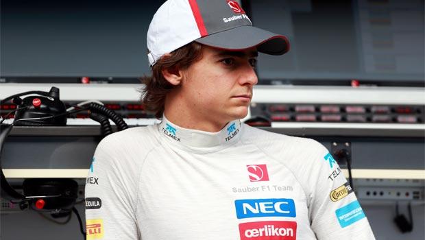 Esteban Gutierrez Sauber driver