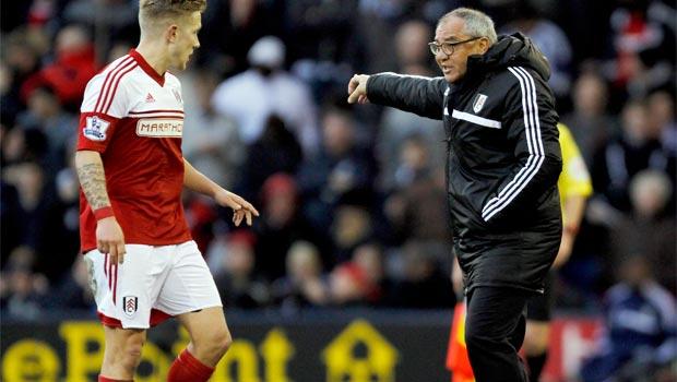 Fulham new boss Felix Magath