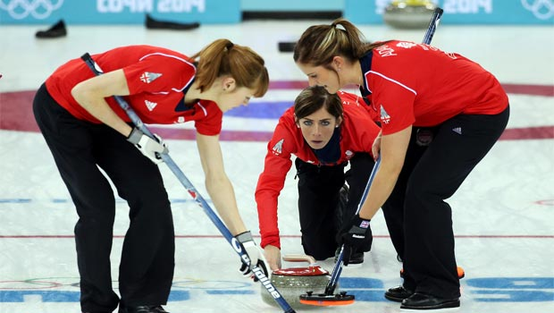 Great Britain womens curling team