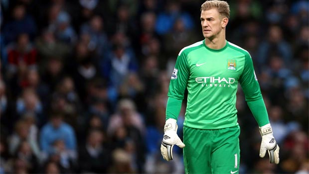 Joe Hart Goal Keeper Man City