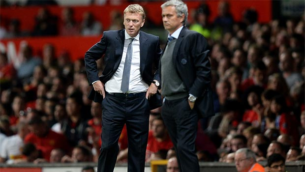Jose Mourinho and david moyes