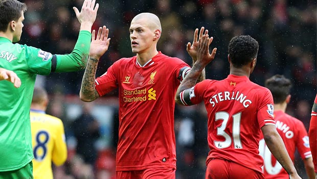 Liverpool-defender Martin Skrtel