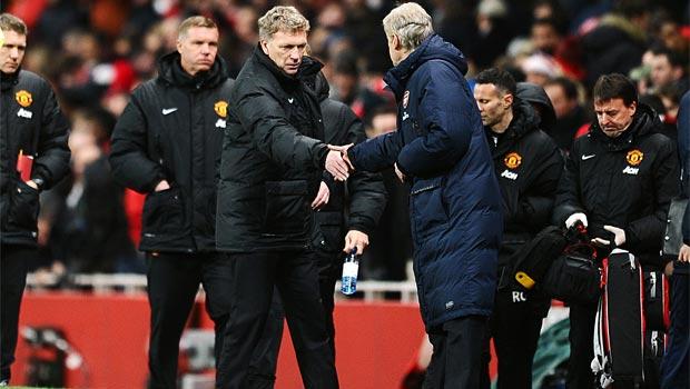 MAN UNITED David Moyes and Arsenal arsene Wenger