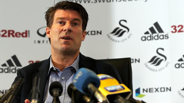 Michael Laudrup Swansea City sack manager