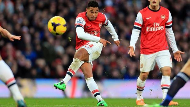 Serge Gnabry Arsenal star