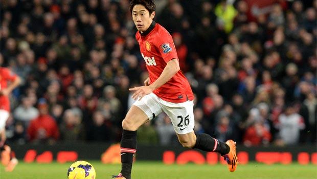 Shinji Kagawa Manchester United midfielder