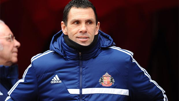Sunderland manager Gus Poyet capital one cup