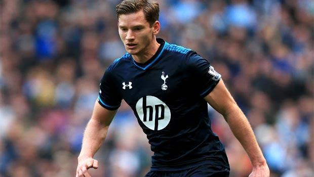 Tottenham defender Jan Vertonghen