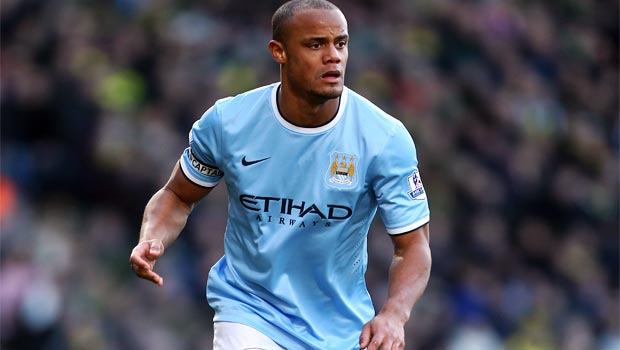 Vincent Kompany Manchester City captain