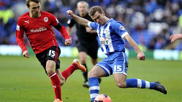 Wigan Athletic v Cardiff City