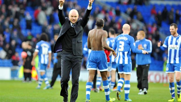 Wigan Athletic win over cardiff