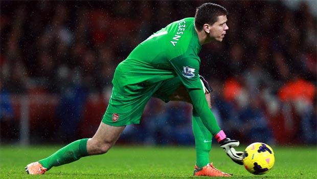Wojciech Szczesny Arsenal goalkeeper