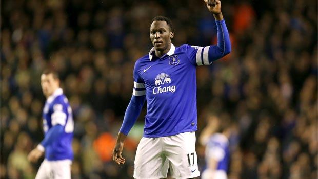 loan star Romelu Lukaku everton