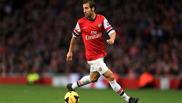 midfielder Mathieu Flamini arsenal