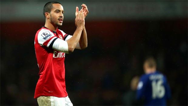 Theo Walcott Arsenal winger