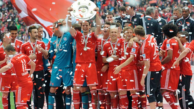 Bayern Munich Bundesliga Champion