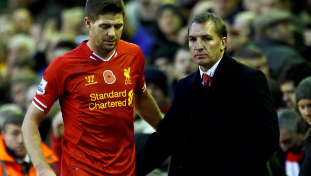 Brendan Rodgers backs Steven Gerrard Liverpool