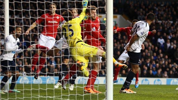 Cardiff City defeat to Tottenham Hotspur