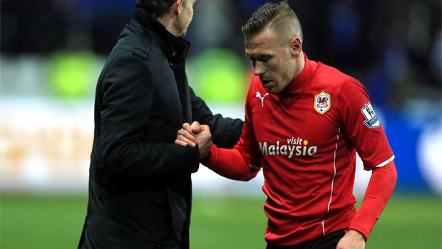 Craig Bellamy Cardiff City forward