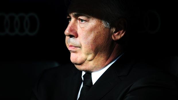 Carlo Ancelotti Real Madrid head coach