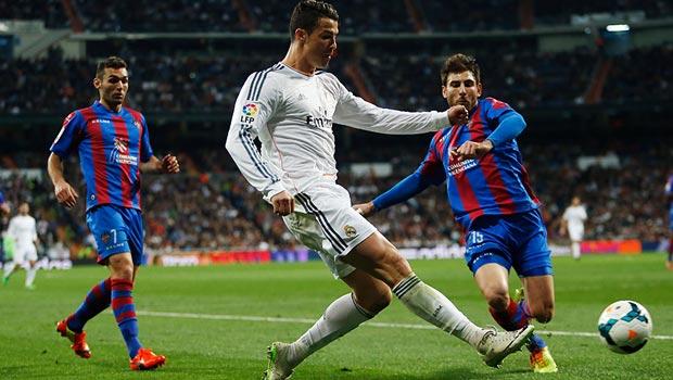 Cristiano Ronaldo Real Madrid v Levante