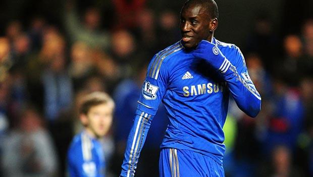 Demba Ba Chelsea Striker