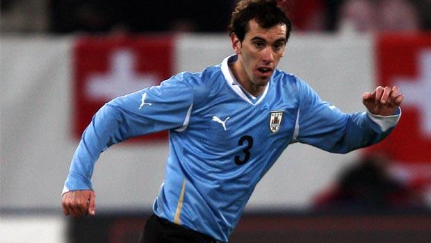 Diego Godin Uruguay defender