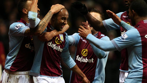 Fabian Delph Aston Villa