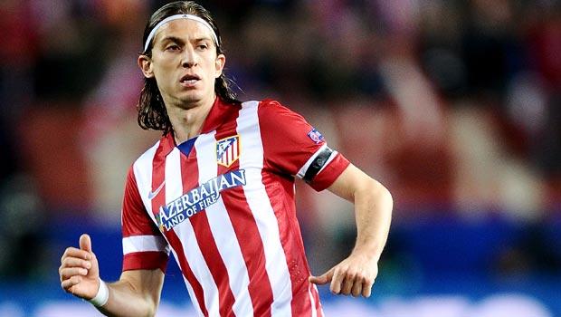 Filipe Luis Atletico Madrid defender