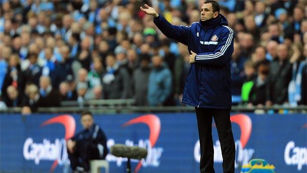 Gus Poyet Sunderland boss