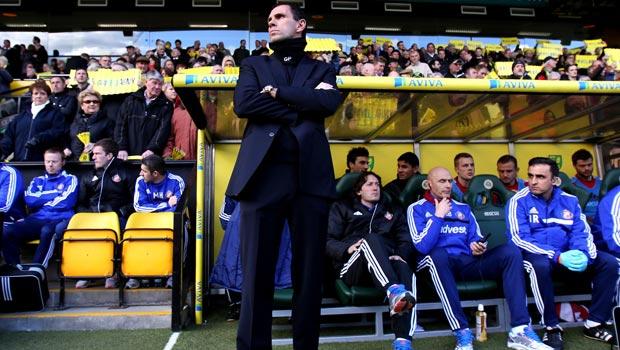 Gus Poyet Sunderland manager