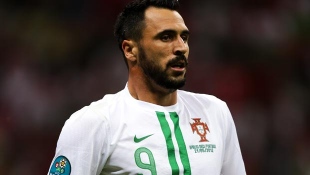 Hugo Almeida Portugal striker