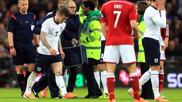 Jack Wilshere Engand injury world cup