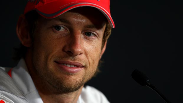 Jenson Button McLaren driver Malaysian Grand Prix