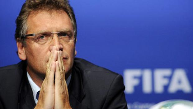 Jerome Valcke FIFA General Secretary World Cup