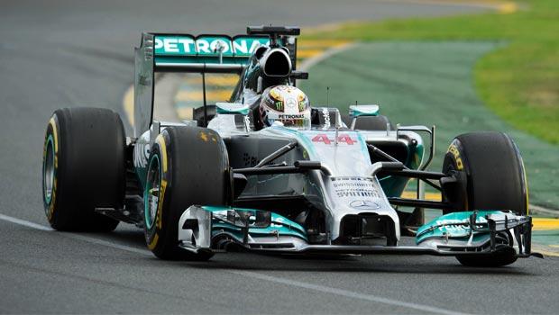 Lewis Hamilton of Mercedes Malaysian Grand Prix