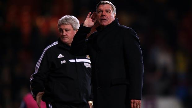 Sam Allardyce West Ham United booed off despite a vital win