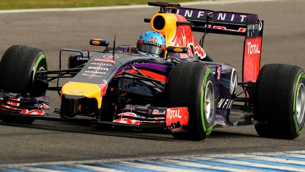 Sebastian Vettel Red Bull driver