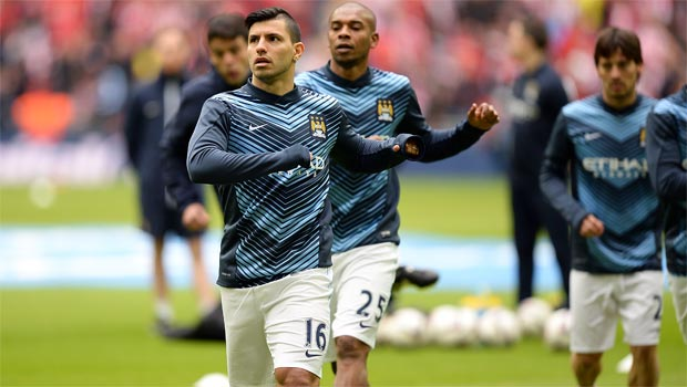 Sergio Aguero Manchester City striker