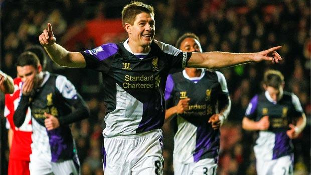 Steven Gerrard Liverpool skipper