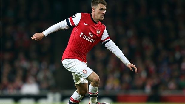 Aaron Ramsey Midfielder Arsenal