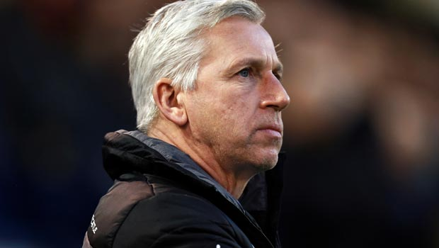 Alan Pardew Newcastle United manager on Arsernal Premier League
