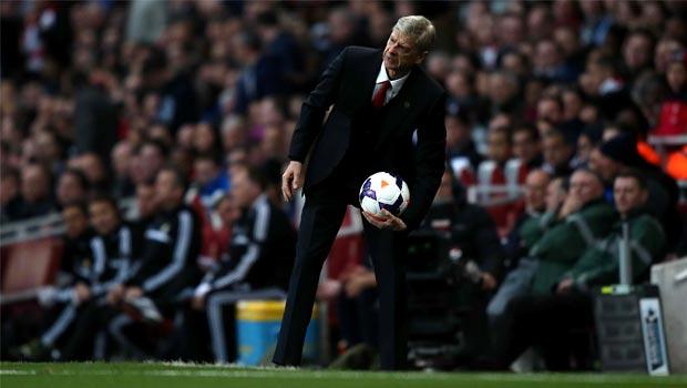 Arsene Wenger Arsenal FC boss football