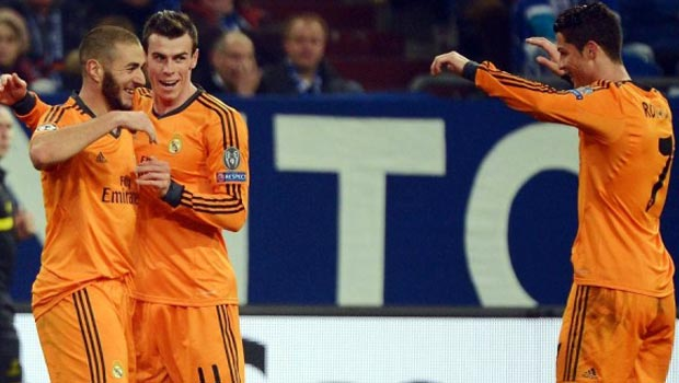 Bale Benzema Cristiano Real Madrid Champions League