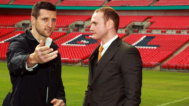 Carl Froch and George Groves Boxing froch v groves 2 Rematch