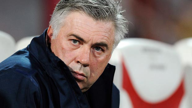 Carlo Ancelotti Real Madrid coach