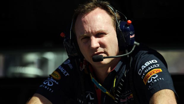 Christian Horner Red Bull Racing team principal F1