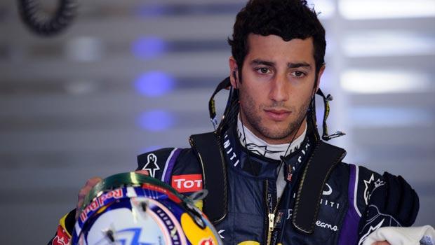 Daniel Ricciardo Red Bull Driver