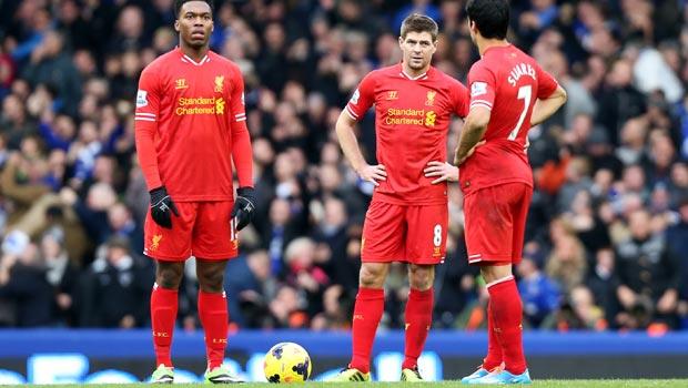 Daniel Sturridge and Steven Gerrard Liverpool