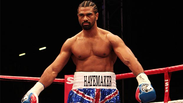 David Haye Former Boxing world champion